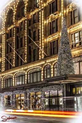 Karácsonyi fények london utcáiról