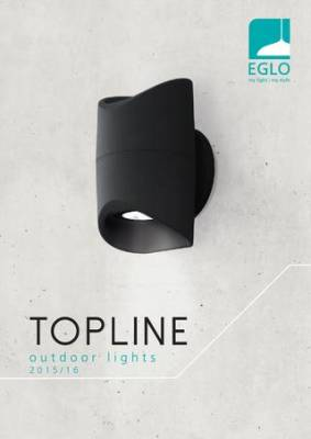 Modern kültéri világítás – EGLO Topline kollekció