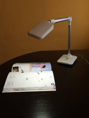 Az íróasztal megvilágítása