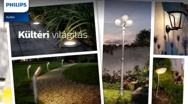 Philips kültéri LED újdonságok 2016