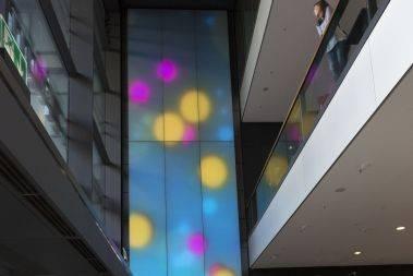 Philips Luminous Textile - Világító textilfelület a belsőépítészetben