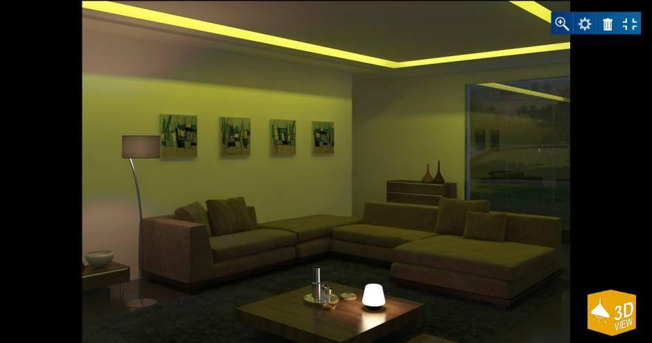 Rejtett világítás LED szalagokkal - Blog - Alkonylámpa lámpabolt
